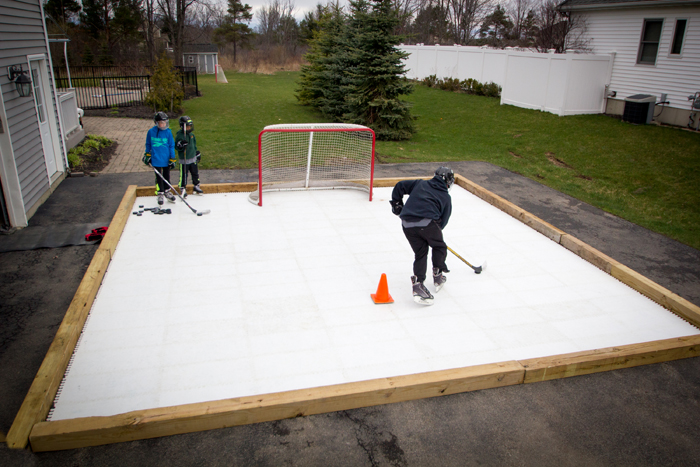 Synthetic Ice Surface By Pace Rinks LEARN MORE