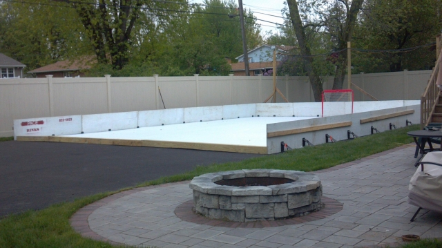 30x40 Synthetic Rink